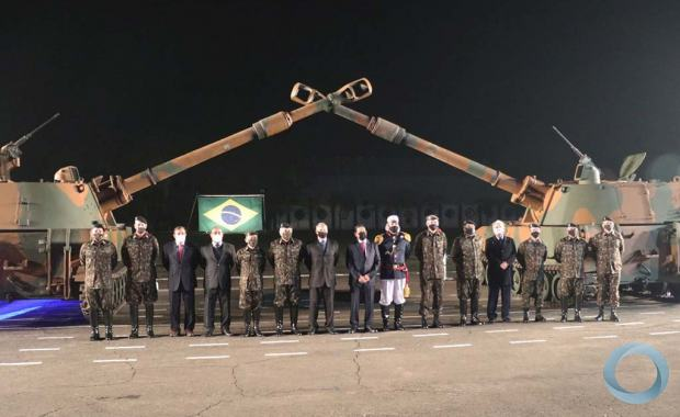 3º GAC AP - Homenagem ao Patrono da Artilharia em Santa Maria