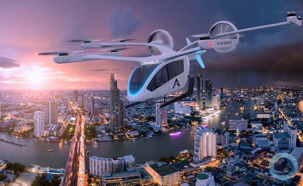 EMBRAER X - Eve Urban Air Mobility anuncia parceria com a Ascent