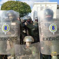 Adestramento em operações de garantia da lei e da ordem (GLO),