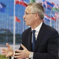 Secretário-geral da Otan, Jens Stoltenberg, durante reunião em Bruxelas