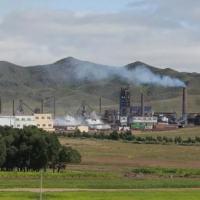 Foto de 2012 de uma refinaria de terras raras perto de Baotou, na China, líder mundial do setor