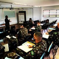 Centro Conjunto de Operações de Paz do Brasil conduziu o Estágio de Coordenação Civil-Militar