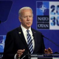 Biden participa de entrevista coletiva na sede da OTAN, em Bruxelas