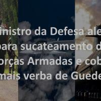 Guedes propõe R$ 10,4 Bi para gastos discricionários em 2022 ew Braga Netto solicita 18,8 Bi