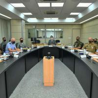 MD - Membros do Conselho Superior de Governança analisam temas da Pasta
