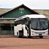 Os ônibus foram distribuídos para as Organizações Militares Operacionais subordinadas à Brigada Príncipe da Beira