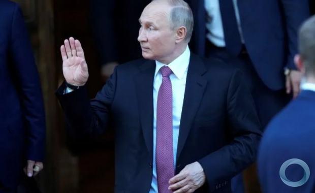 Presidente da Rússia, Vladimir Putin, após reunião com presidente dos EUA, Joe Biden, em Genebra