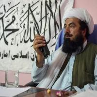 O mulá Misbah, comandante talibã, em Andar, Afeganistão, em 3 de junho de 2021