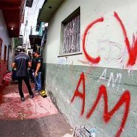 DEMARCAÇÃO - Pichação na capital do Amazonas: a facção domina bairros pobres, violentos e estratégicos para o tráfico - Edmar Barros