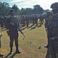 Batalhão de Força de Paz recebe inspeção do Comando de Operações Terrestres
