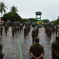 Batalhão de Infantaria realiza apronto operacional de Força de Prontidão - Crédito: Cb Silas, Sd Jobson e Sd Clécio