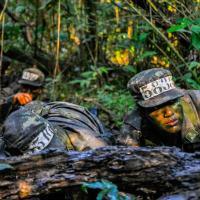 Alunos da Escola Preparatória participam de exercício de longa duração - Crédito: 2º Ten Douglas e 1º Sgt Brant
