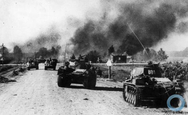 O ataque dos alemães à União Soviética no dia 22 de junho de 1941 ficou conhecido como Operação Barbarossa.