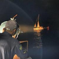 """O NPaOc """"Araguari"""" foi empregado na interceptação e apresamento da embarcação a cerca de 360 km da costa de Recife (PE)"""