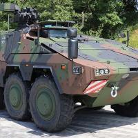 O Exército Alemão recebeu a 131ª viatura Boxer A2, completa o sgundo contrato.