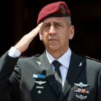 Chefe do Estado-Maior das Forças de Defesa de Israel, Aviv Kochavi, em Washington em 21 de junho de 2021