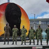 Os assessores interamericanos do Brasil capacitaram quatro militares do Exército Nacional da Colômbia