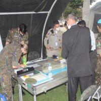 Centro de Operações de Paz promove Estágio de Coordenação Civil-Militar