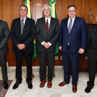 O veterano diplomata William J. Burns, nomeado chefe da CIA por Biden, desembarcou em Brasília DF, 01 de Julho 2021, após visita a Colômbia.