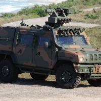 Viatura Blindada Multitarefa Leve Sobre Rodas 4x4 (VBMT-LSR 4x4), adquirida pelo Exército Brasileiro