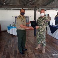 Fonte: Aditância de Defesa e do Exército no Paraguai