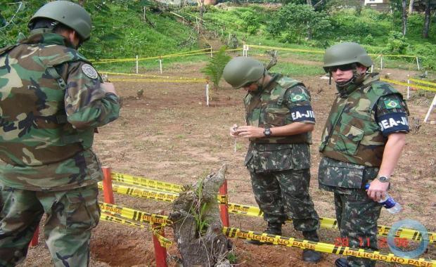 Em 2021, a Engenharia do Exército Brasileiro completa 15 anos de atuação na Colômbia, no Grupo de Monitores Interamericanos (GMI)