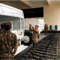 O objetivo da AAV foi verificar, in loco, o adestramento da tropa, a disponibilidade de materiais e equipamentos, o processo de seleção, capacitação e treinamento dos recursos humanos do BI F Paz, dentre outros assuntos