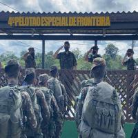 Visita de Inspeção e Orientação Técnica (VIOT) aos Pelotões Especiais de Fronteira (PEF) na Guarnição de Tabatinga-AM