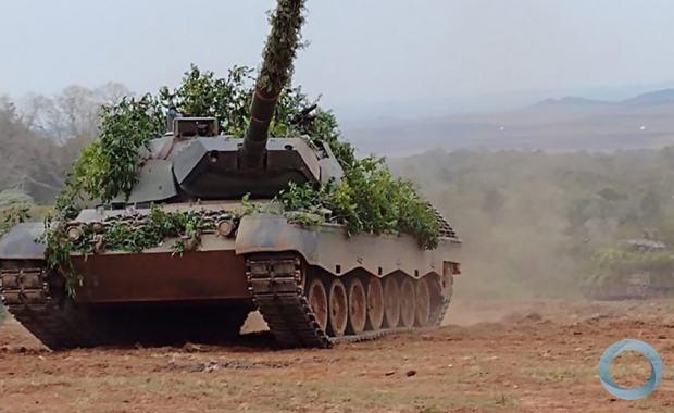 Santa Maria conta com o maior número de blindados do país e, provavelmente, da América do Sul Humberto Trezzi / Agencia RBS