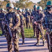O incremento em material e pessoal tem por finalidade estabelecer mais bases de operações, apoiando os militares e os agentes - Crédito: Ten Dantas
