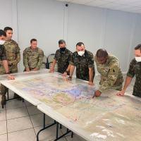 A reunião tem por finalidade realizar as coordenações para a execução do exercício de rodízio, previsto para ocorrer entre os Exércitos dos dois países em 2021
