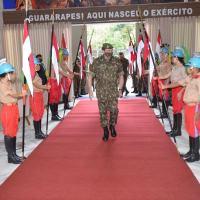 O Comando Militar do Nordeste (CMNE) recebeu no período de 18 a 20 de julho, o Comandante do Exército, General de Exército Paulo Sérgio Nogueira de Oliveira
