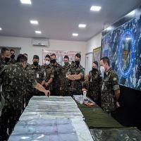 O exercício de defesa da Pátria faz parte do Programa de Adestramento Avançado (PAA) dos quadros de grandes unidades