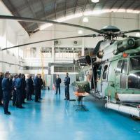 A visita teve como objetivo realizar o alinhamento estratégico do EMAER com o DCTA e suas Organizações Militares