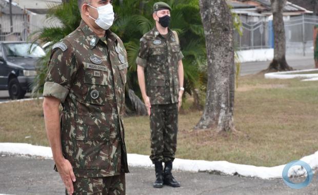 O General conheceu as instalações, equipamentos e funcionamento da Divisão de Defesa Química, Biológica, Radiológica e Nuclear (DQBRN).