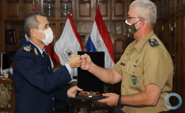 Comandante Militar do Oeste realizou uma viagem de diplomacia militar à República do Paraguai.