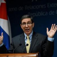 Arquivo) O chanceler de Cuba, Bruno Rodríguez