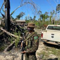 Em missão de GLO anterior, a chamada Operação Verde Brasil 2, executada na Amazônia Legal