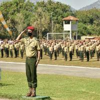 Dentre os formandos, oito eram da Marinha do Brasil e dois da Força Aérea Brasileira.