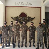 A atividade, que contou com a participação de oficiais e sargentos da 6ª Bia AAAe AP - Créditos: 6ª Bia AAAe AP e Sd D Lopes