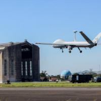 o suporte de inteligência, vigilância e reconhecimento, no fornecimento de imagens aéreas, por meio do emprego da Aeronave Remotamente Pilotada (ARP) de modelo RQ-900.