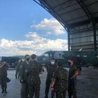 A visita Institucional objetivou dar continuidade ao estudo de implantação de uma fração da Aviação do Exército (AvEx) na Organização Militar da Força Aérea Brasileira (FAB).