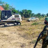 Fiscalização do desmatamento e levantamento de madeireiras - Crédito: Sgt Brito