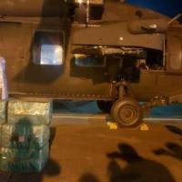 A bordo de um Helicóptero H-60 Black Hawk da FAB, assumiu as Medidas de Controle de Solo (MCS)