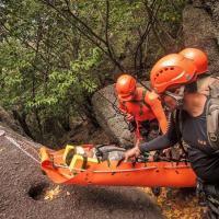 A capacitação teve como objetivo aprimorar as técnicas de salvamento em altura, navegação em ambiente de montanha, técnicas de escalada, de transposição de obstáculos e rapel.