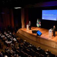 A cerimônia ocorreu no Teatro Firjan SESI, na tarde desta sexta-feira (30), na capital fluminense.