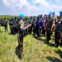 Os treinamentos ministrados pela JWMTT foram parte de um grande esforço das Nações Unidas para reforçar as capacidades das tropas locais em técnicas comumente utilizadas em ambiente de selva