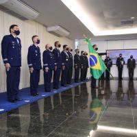 A solenidade foi realizada no Espaço Força Aérea, em Brasília (DF)