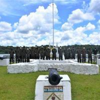 A comitiva teve a oportunidade de verificar as necessades das OM locais, bem com visitar os Núcleos de novas capacidades da Brigada Foz do Amazonas