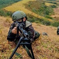 O objetivo do Exercício Aratu II foi intensificar o adestramento dos militares do 6º BIL para o exercício combinado com o Exército dos Estados Unidos - Crédito: Sd Simplicio